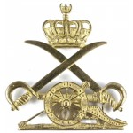 Cyrenaica Artillery Officers Gilt Cap Badge
